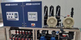 Thiết bị châm phân tự động Azud Qgrow cho dưa lưới