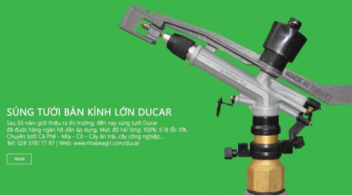 Súng tưới Ducar Atom 28