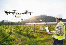 máy bay không người lái trong nông nghiệp
