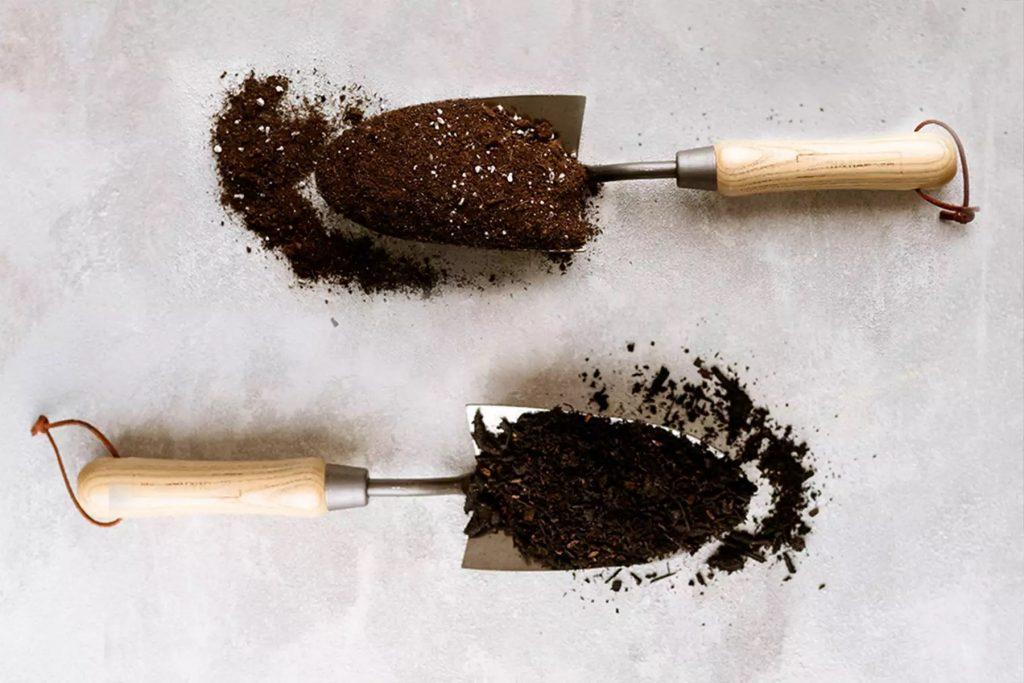 Sự khác biệt giữa đất trồng trong chậu và hỗn hợp giá thể trồng cây 2
