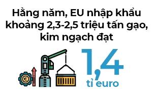Visa EVFTA cho gạo Việt