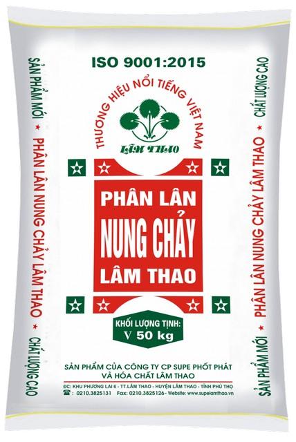 Phân lân nung chảy Lâm Thao được nhiều bà con sử dụng